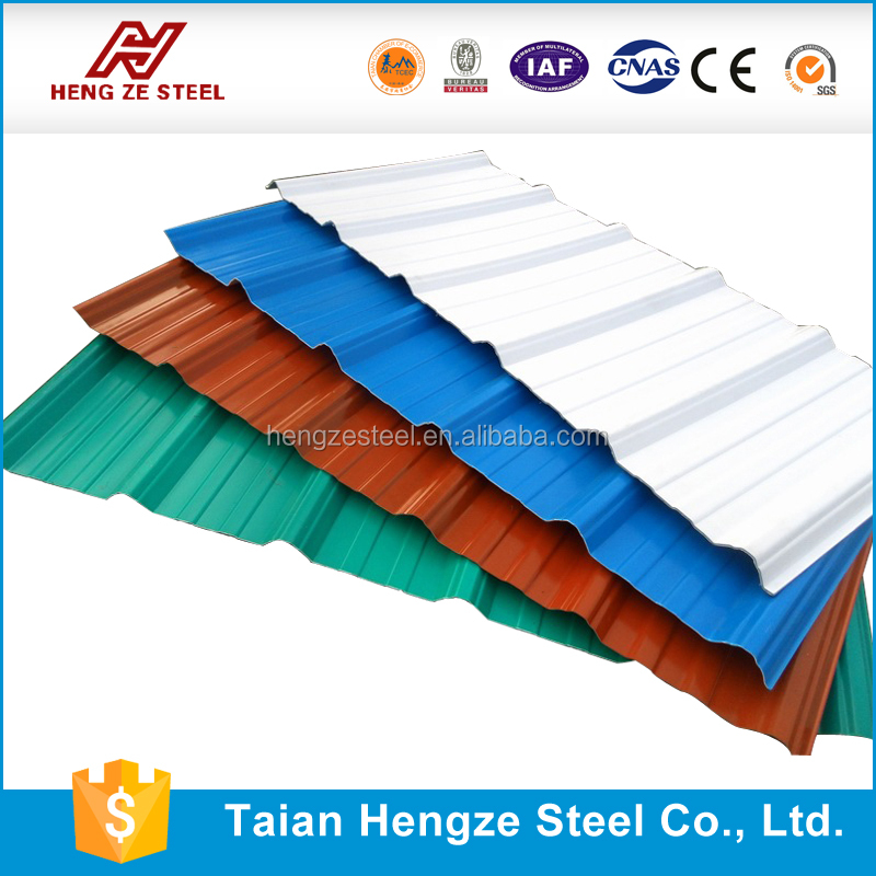 Anti-Abrasion Corrugated Fine Ribbed Rubber Corrugated Metal Roofing Sheet with PPGI