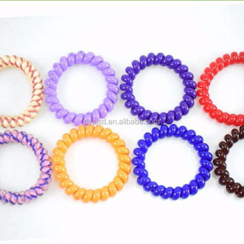 Wholesale Telephone Wire Coil Hair Elastic Band For Women - Buy ... 9c76ca8538f