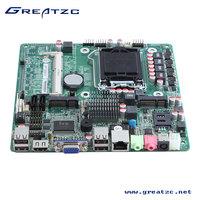 ZC-H61D H61 Motherboard LGA1155 Motherboard I3/I5/I7/Pentium MINI ITX Motherboard HDMI DC 19V Mainboard