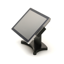 China touch screen windows pos system all in one with MSR