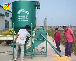 Exported to mozambique chicken feed mixer and grinder small farm feed grinder for sale