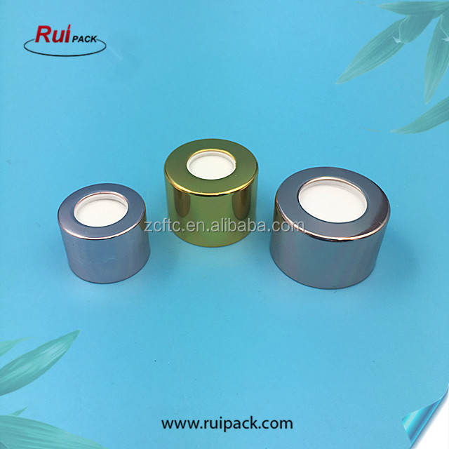 Fancy 20mm,24mm,28mm reed diffuser aluminum cap for glass bottle