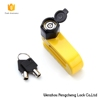Promotion new design scooter bicycle disc brake lock