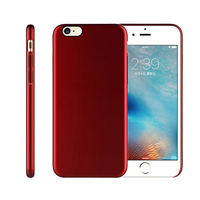 2017 cell phone mobile accessory ultra thin hard pc materail phone case for ultra thin iphone 6 7 8 case