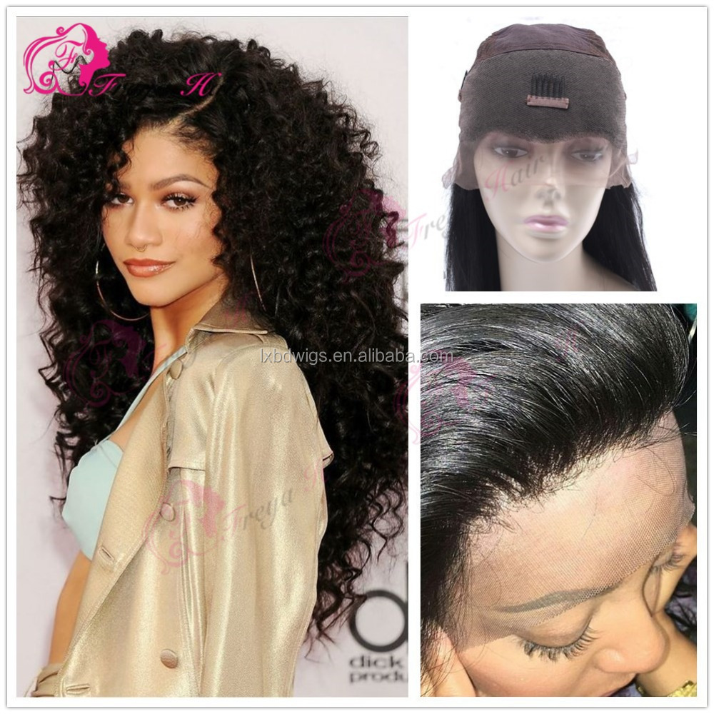 Freya Hair360 lace frontal wig side part preplucked hair line lace wig