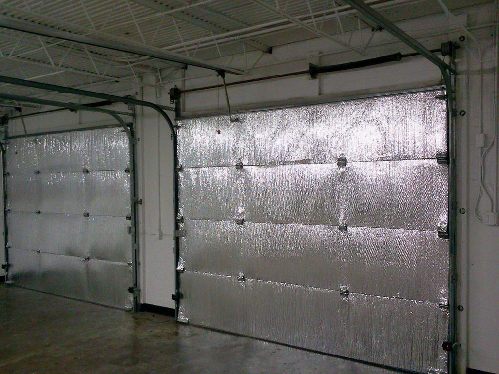 NASA TECH Reflective Foil Platinum Single Car (5 Panel) Garage Door Insulation Foam Core Kit Fits Single Garage Car Doors up to 9ft by 7ft NASA Technology MADE IN THE USA