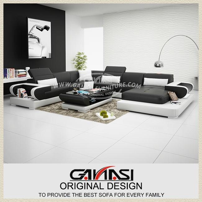 Light Yellow Leather Sofa Set Furniture Top Ing Items