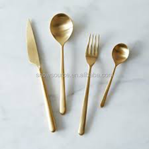 121pcs/set Eco-Friendly wholesale gold plated other tableware