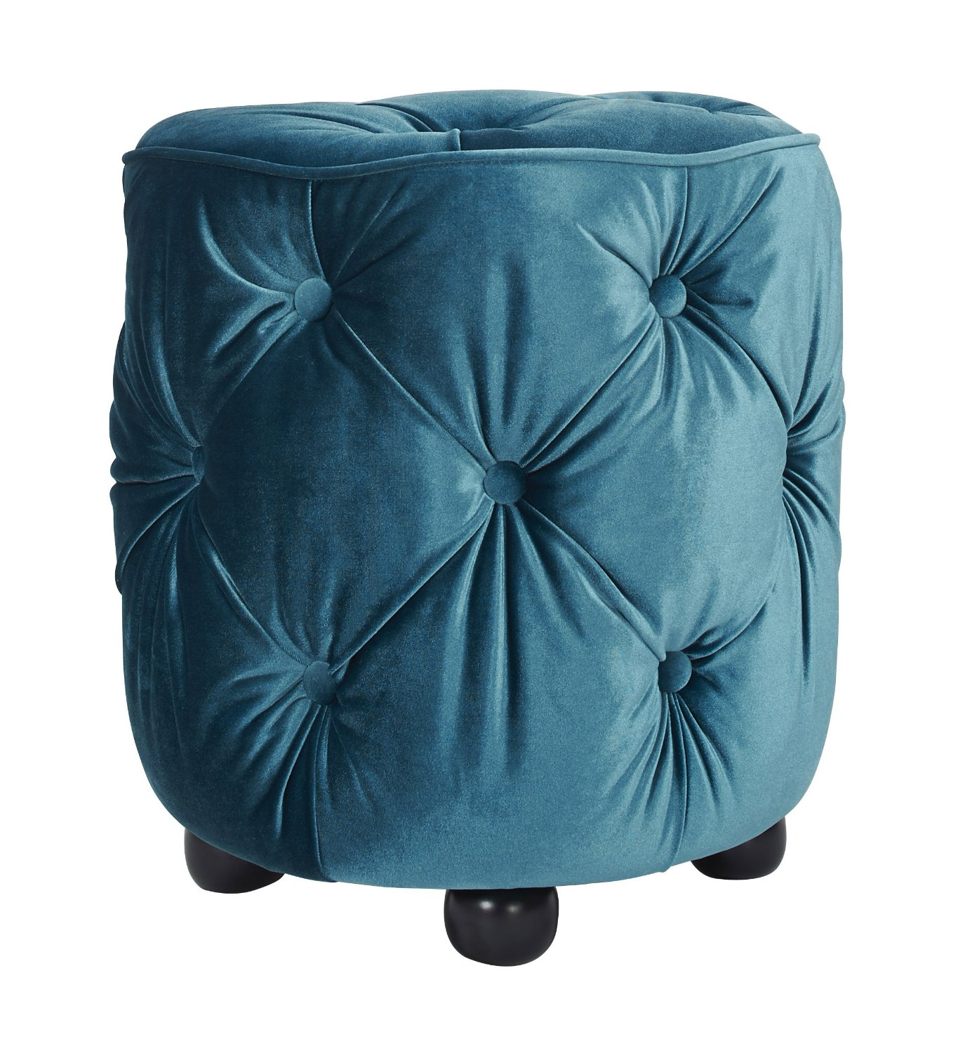 Brilliant Cheap Blue Tufted Ottoman Find Blue Tufted Ottoman Deals On Alphanode Cool Chair Designs And Ideas Alphanodeonline