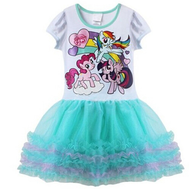 Buy Retail Casual Summer My Little Pony Dresses For Party Birthday ...