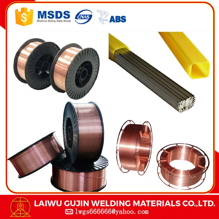 2.0mm Aws El8/e12 Din Sg2 Copper Coated Er70s-6 Welding Wire 1.0mm ...