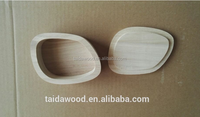 Custom unfinished small round wooden jewelry keepsake boxes,round box wood