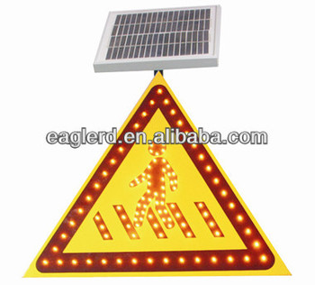 Solar Road Safety Signs For Pedestrian