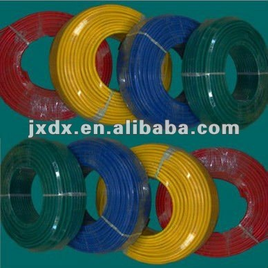 PVC insulated single core semi-flexible copper 35mm wire stranded wire for electric wiring China CCC BVR 450/750V