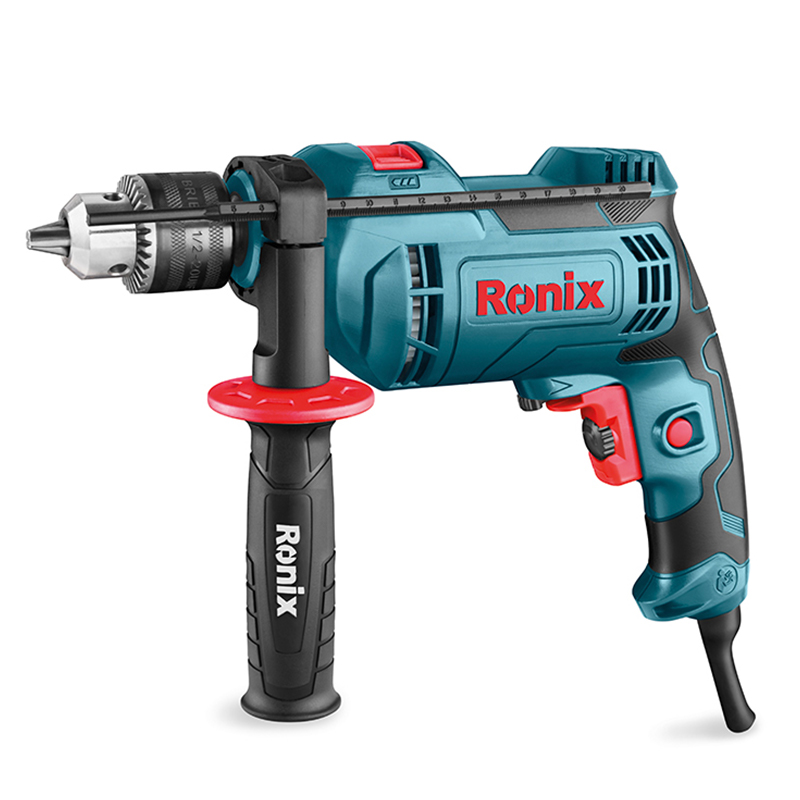 Ronix Nieuwe 13mm Klopboormachine 800 W Elektrische Klopboormachine Machine Model 2212 Ronix Professionele Power TOOLS