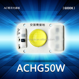 New Product Chip On Board Integrated led chip 50W 220v 230v AC cob led