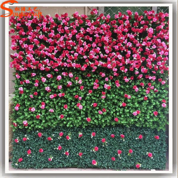 Direct From China Factory Handmade Felt Flowers For Plastic Decorative Wall Shelves