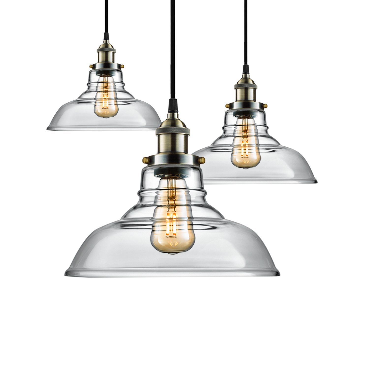 Ceiling Lights & Fans Trend Mark Vintage Pendant Lamps Industrial Loft Bar Bird Decor Hanging Lamp Lamparas Kitchen Birdcage Lamp Chandeliers With Iron Lampshade