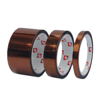 ISO9001&SGS Silicone adhesive 3m Polyimide Film Tape 5413 amber polyimide film for PCB Solder Masking