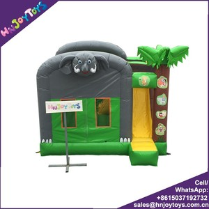 PVC Vinyl Commercial Inflatable Bouncer Small Inflatable Indoor Bouncer For Kids Party