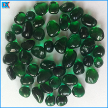 Dark Green Glass Beads For Swimming Pool