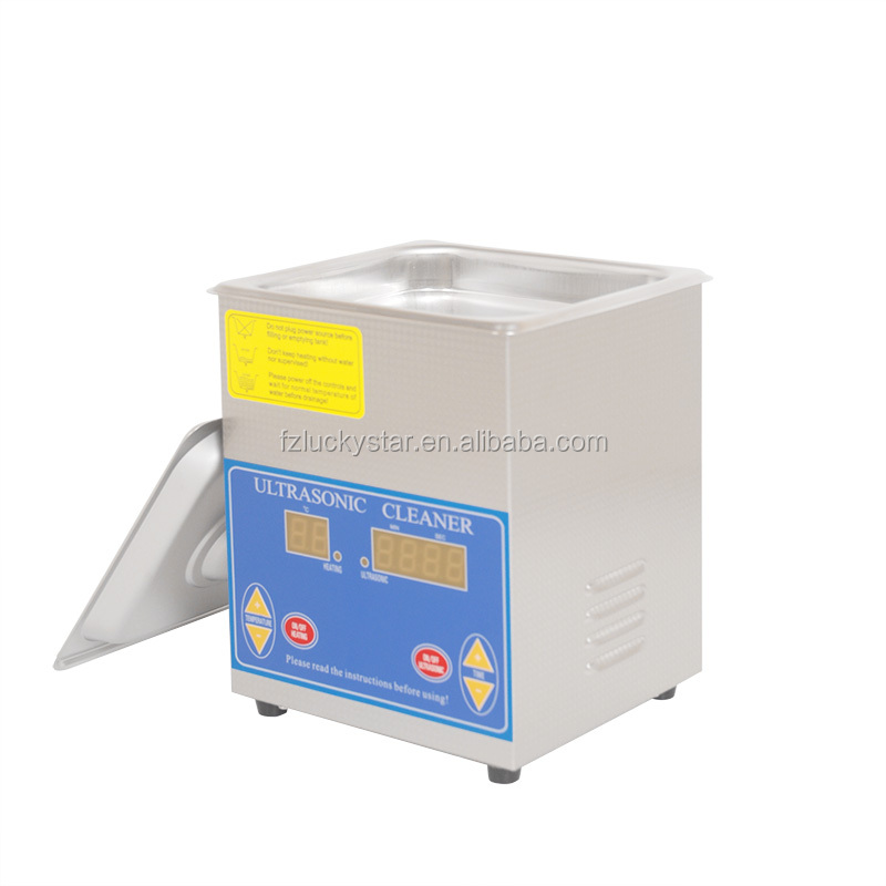 wholesale Professional manufacturer mini 1.3L digital heating ultrasonic cleaner