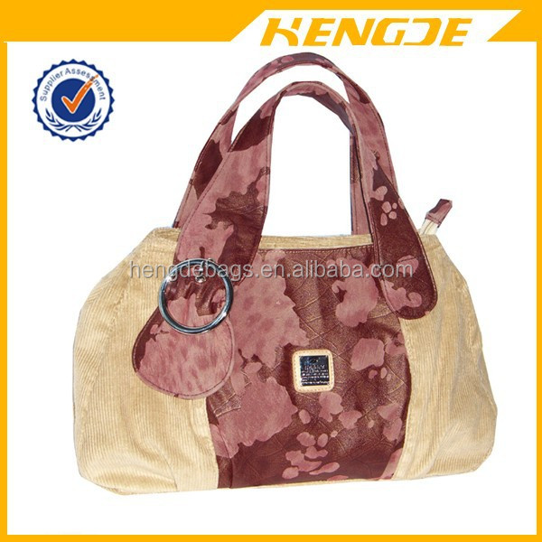 designer chinese traditional style lady printed handbag