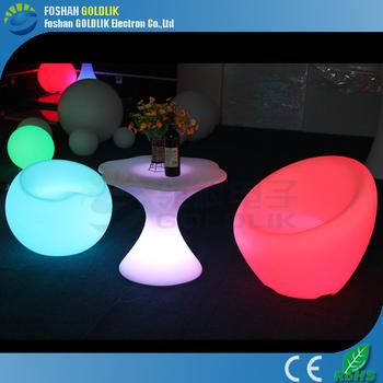 Nightclub Show Bar Furniture Decking Light Up Tables