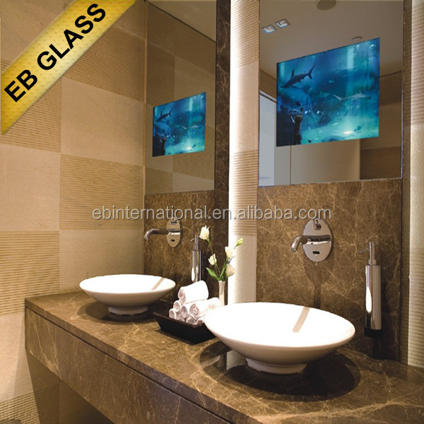 Bathroom Hotel Tv Behind Mirror Suppliers And Manufacturers At Alibaba