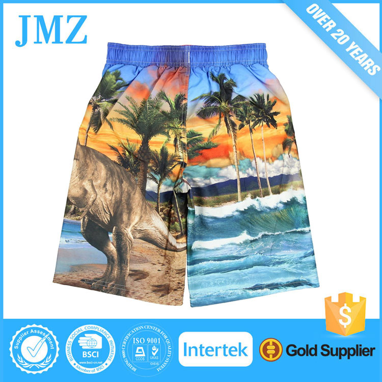 sublimated board shorts custom printed beach short pants for men women