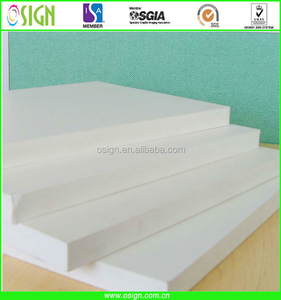 pvc barge board for furniture pvc foam board
