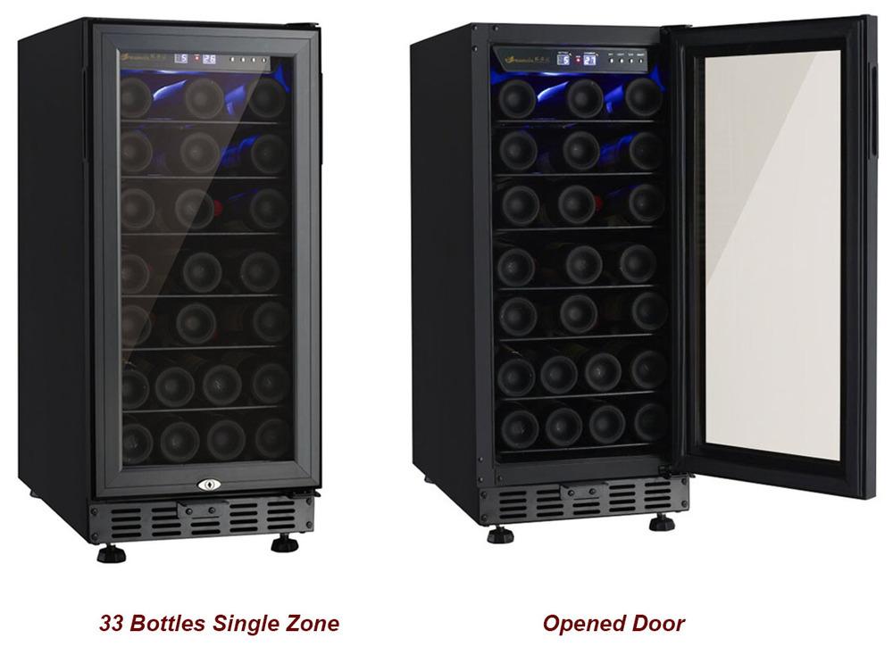 Mini Kühlschrank Billig : Billige kompressor mini weinkühler drahtetagen einzigen
