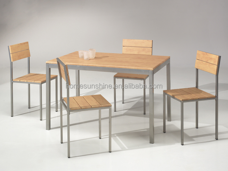 Modern corner folding dining table set buy new style for Latest style dining table