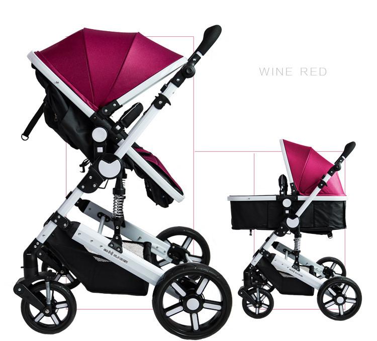 High End Multifunctional Baby Stroller 4 Wheels Baby