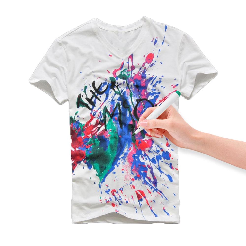 Paquete De 8 Marcador Bolígrafos Permanentes Tela Textil Multicolor Ropa T-Shirt