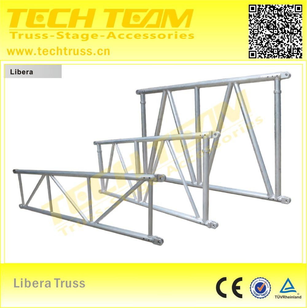 MD76-D Series Aluminum star truss , concert stage roof truss