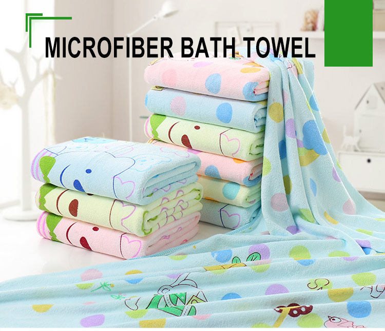 wholesale customized sublimation printing bath towels for Christmas gifts