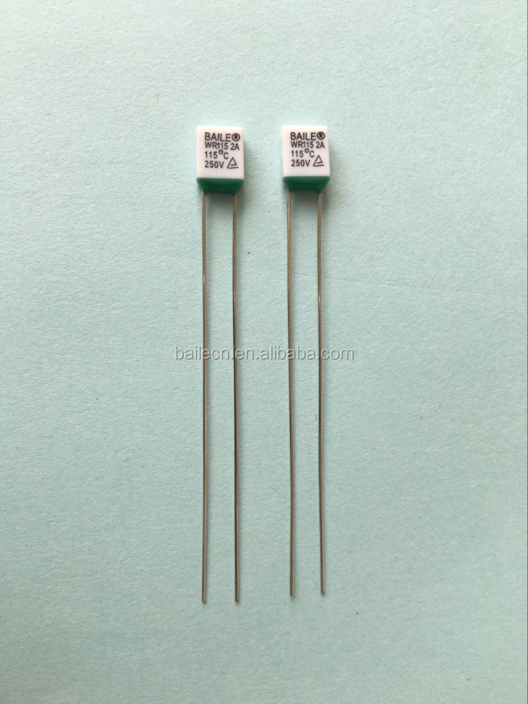 WR pc boards Thermal fuse 2A 250V 115 C