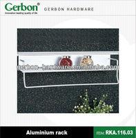 aluminium wall mounted rack
