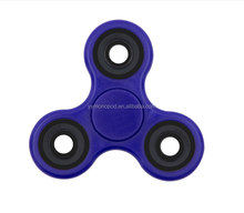 2017 newest wholesale Brass Aluminum Ceramic hybrid fidget spinner hand toy Release Stress EDC Tri fidget spinner