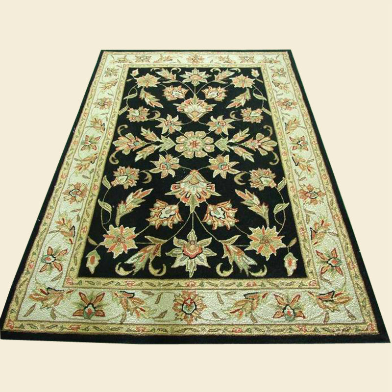 Hand made 100% wool antique rug