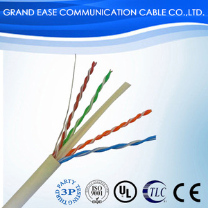 lan cable utp cat6 2017 wholesale high quality HDPE insulation