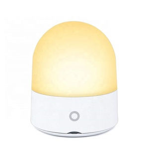 ShineLong Home Decoration Dimmable ABS PP Touch Smart sensor 9 Color USB Baby LED Night Light For Kids