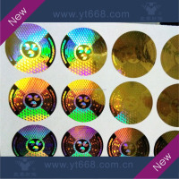 Secure 3D hologram sticker