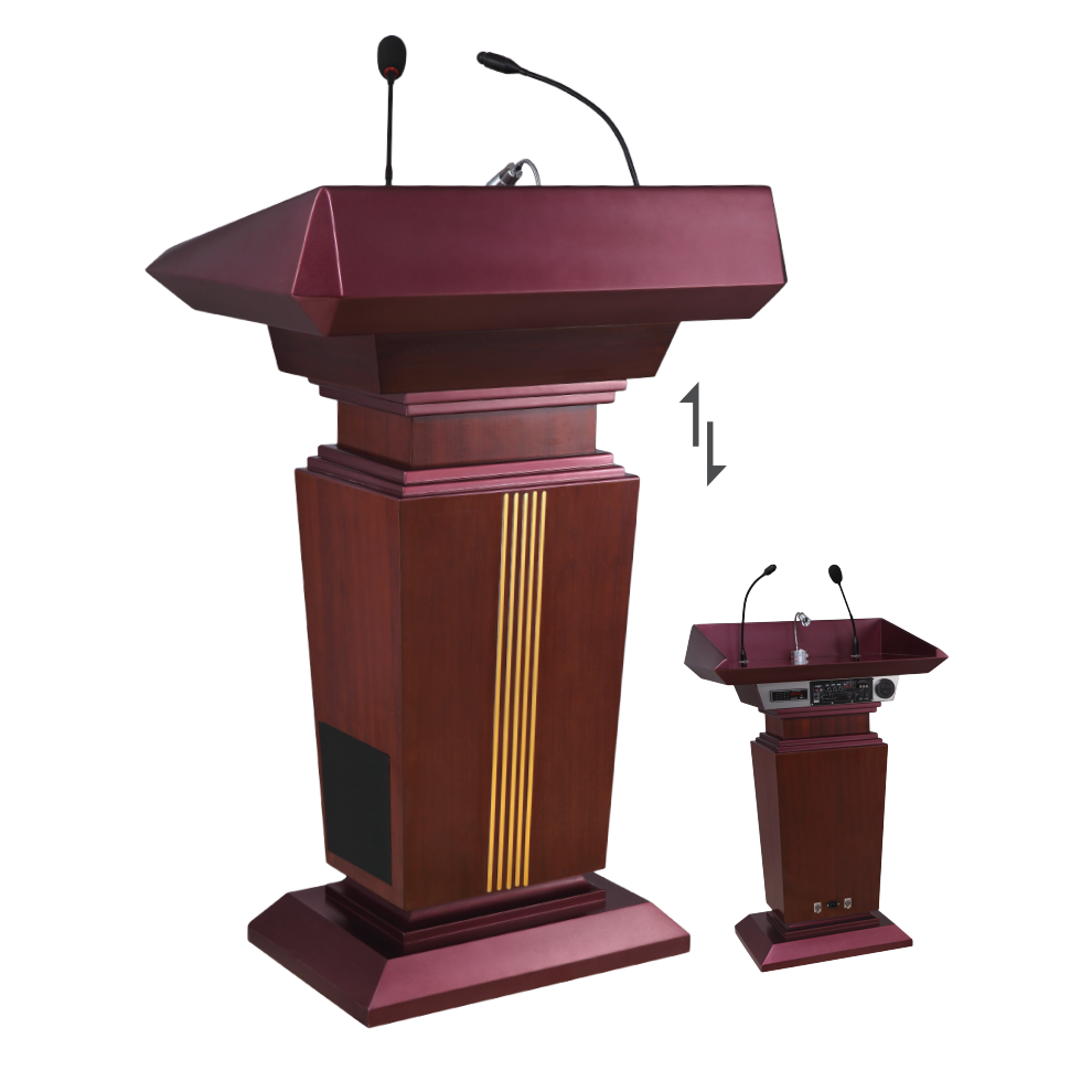 High Quality Wooden Lectern Podium / Church Pulpit/ Wooden Rostrum