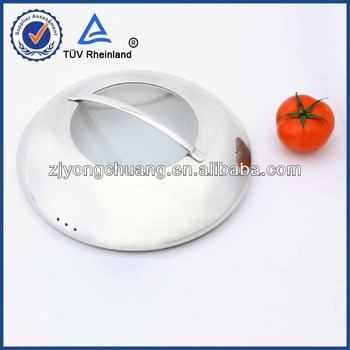 silicone rim universal glass lid for microwave and variety pans pots