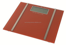 High accuracy full function to measure weight/fat/water/bone/BMI/BMR digital body fat analyser scale