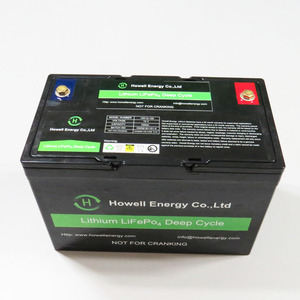 Deep Cycle Lithium ion Battery 12V 100Ah Lifepo4 Battery Pack for Solar Storage System