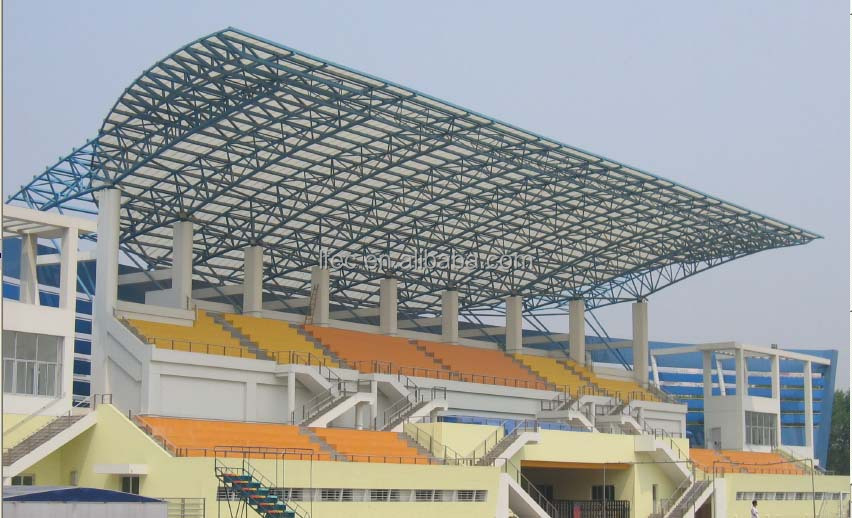 Good Design Steel Structure Prefabricated Stadium