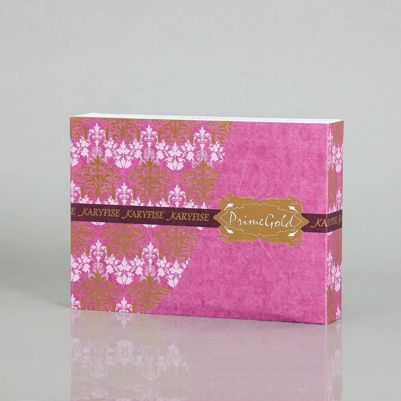 Custom made big lots luxury hot stamping packing box paper gift box luxury packaging cosmetics boxes